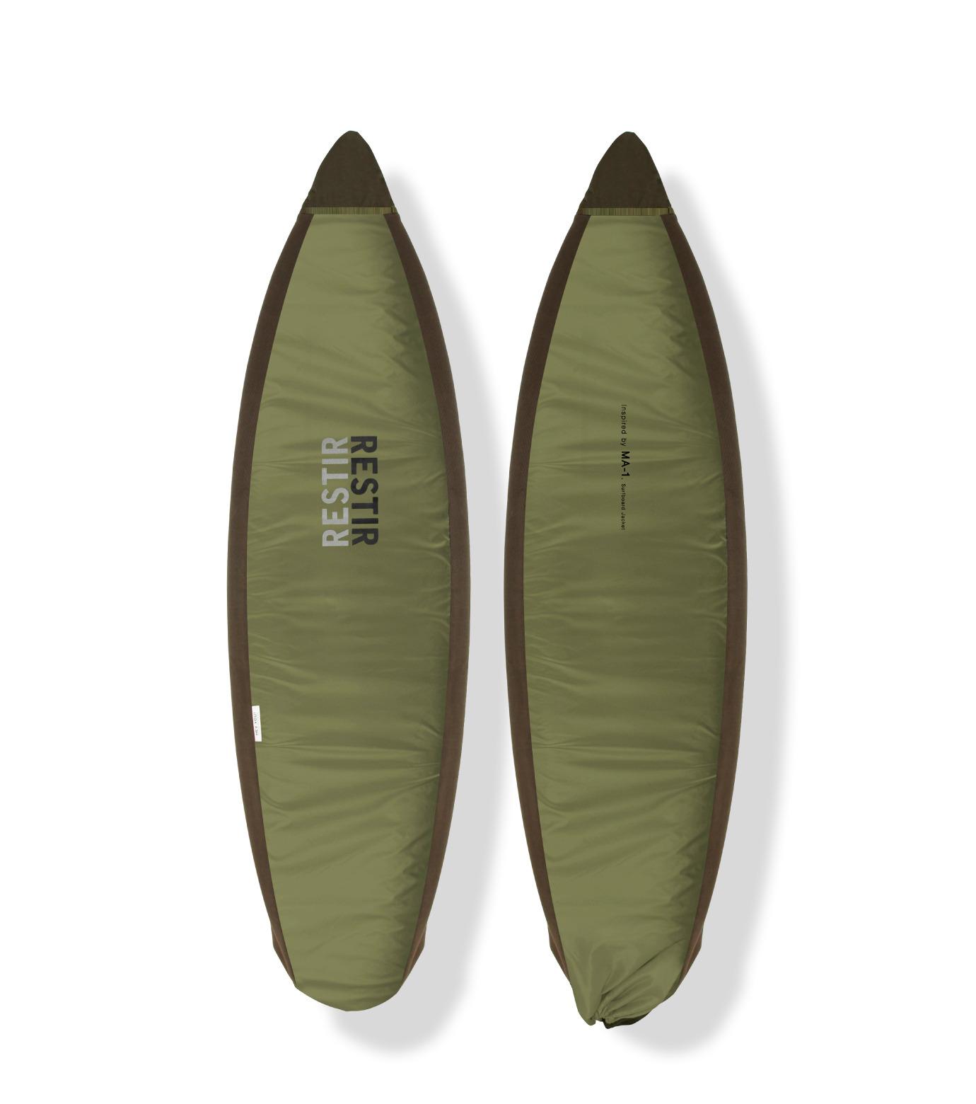 HEY YOU !(ヘイユウ)のSurfboard Jacket Short-KHAKI(サーフ/OUTDOOR/surf/OUTDOOR)-18S90007-24 拡大詳細画像1