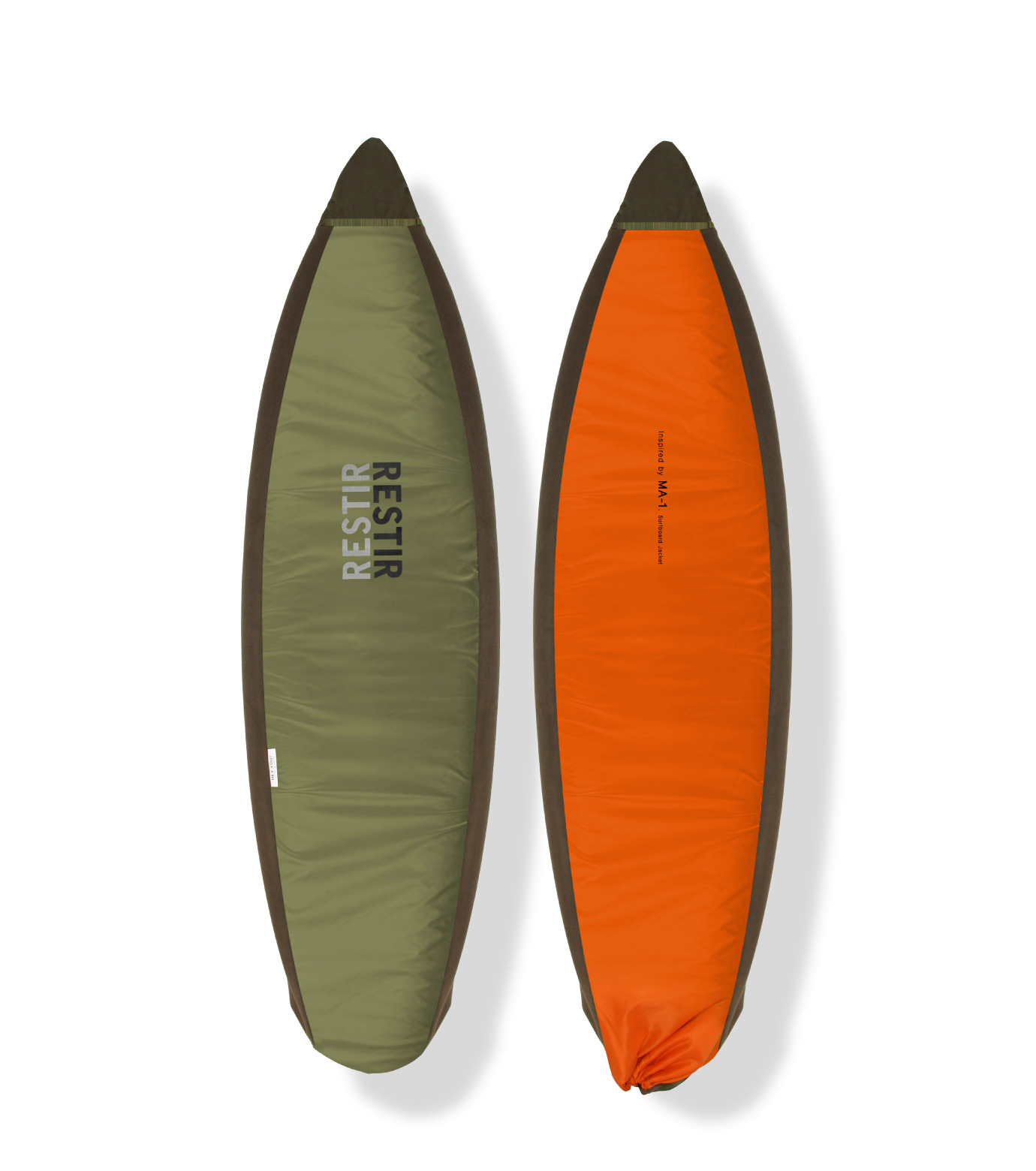 HEY YOU !(ヘイユウ)のSurfboard Jacket Short-ORANGE(サーフ/OUTDOOR/surf/OUTDOOR)-18S90007-61 拡大詳細画像1