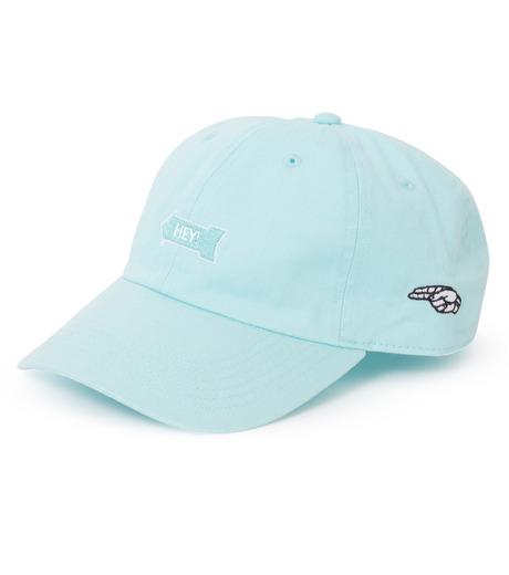 HEY YOU !(ヘイユウ)のHEY! CAP-LIGHT BLUE(キャップ/cap)-18S90020-91 詳細画像1