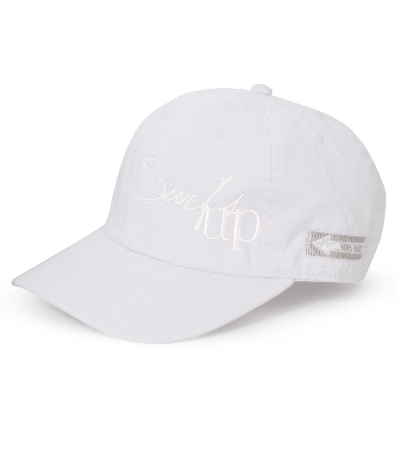 HEY YOU !(ヘイユウ)のSURF'S UP CAP-WHITE(キャップ/cap)-18S90022-4 拡大詳細画像1
