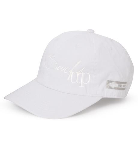 HEY YOU !(ヘイユウ)のSURF'S UP CAP-WHITE(キャップ/cap)-18S90022-4 詳細画像1