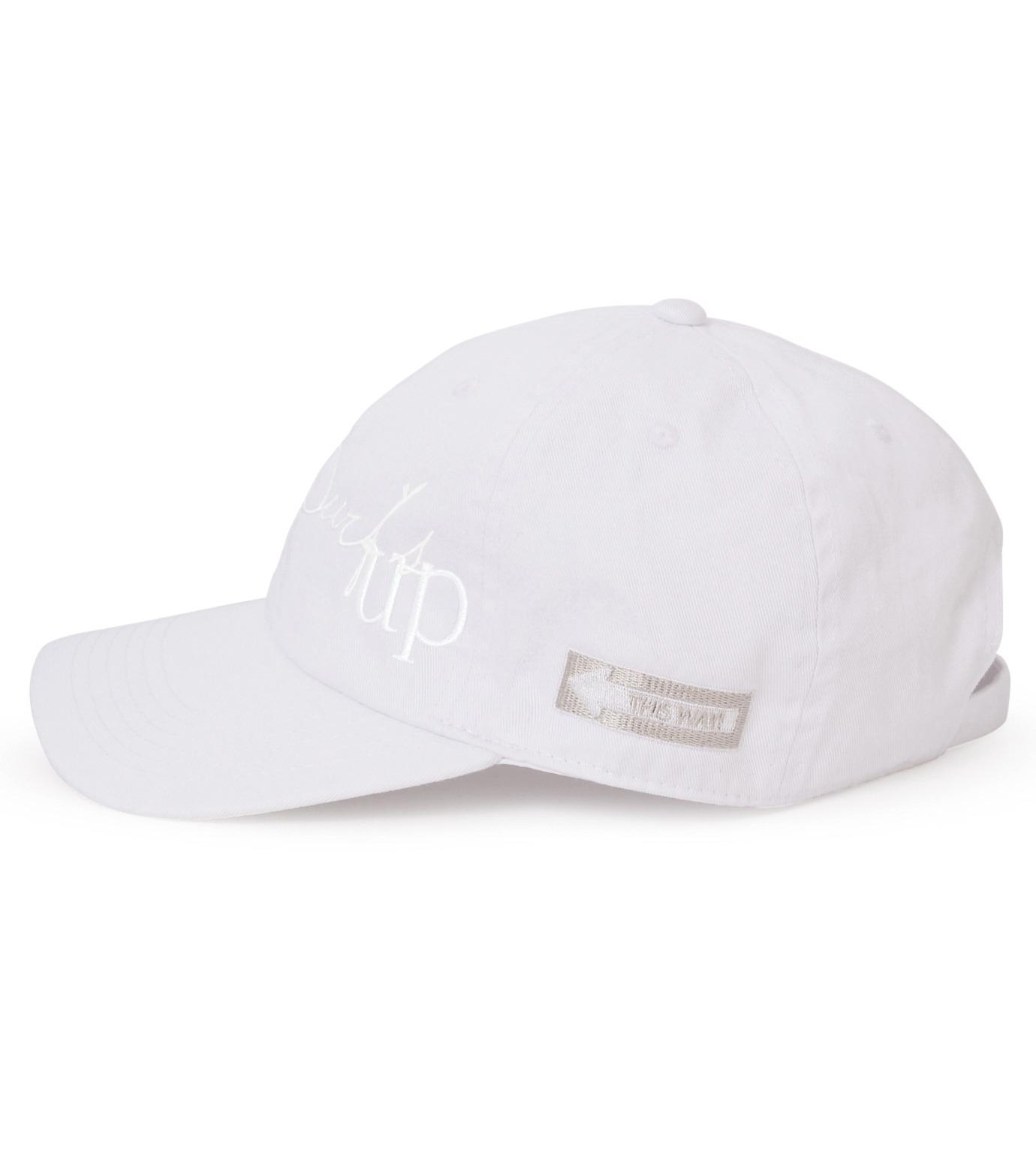 HEY YOU !(ヘイユウ)のSURF'S UP CAP-WHITE(キャップ/cap)-18S90022-4 拡大詳細画像2