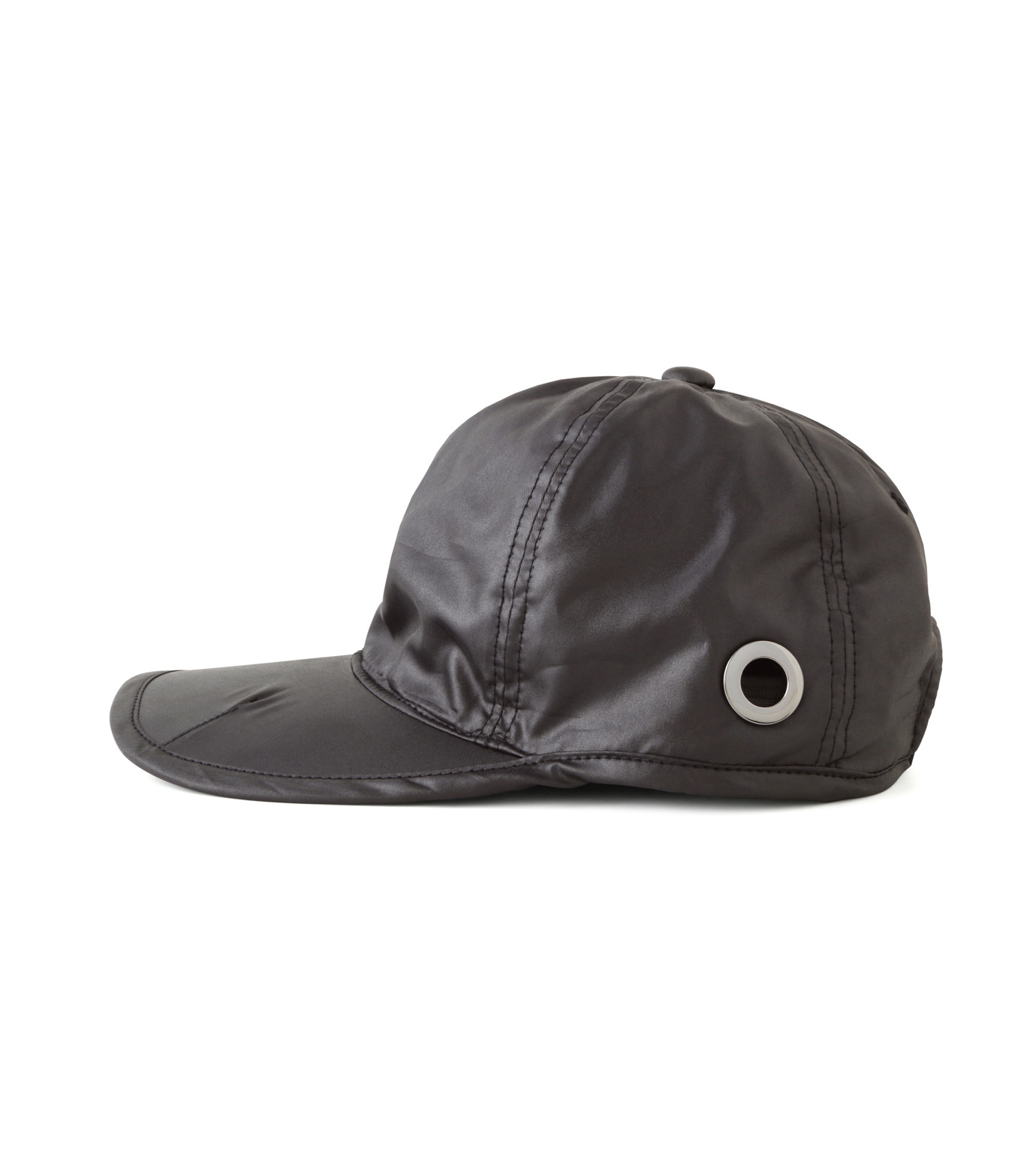 HEY YOU !(ヘイユウ)のWASHED TWILL CAP-BLACK(HATS/HATS)-18S90023-13 拡大詳細画像2