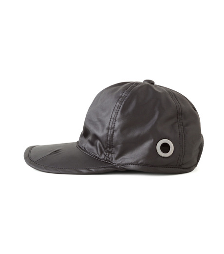 HEY YOU !(ヘイユウ)のWASHED TWILL CAP-BLACK(HATS/HATS)-18S90023-13 詳細画像2