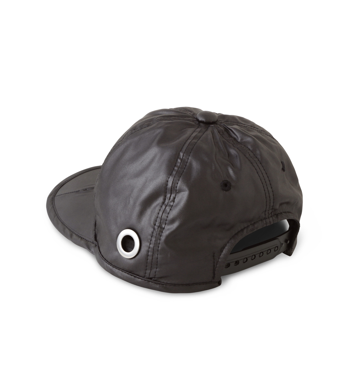 HEY YOU !(ヘイユウ)のWASHED TWILL CAP-BLACK(HATS/HATS)-18S90023-13 拡大詳細画像3