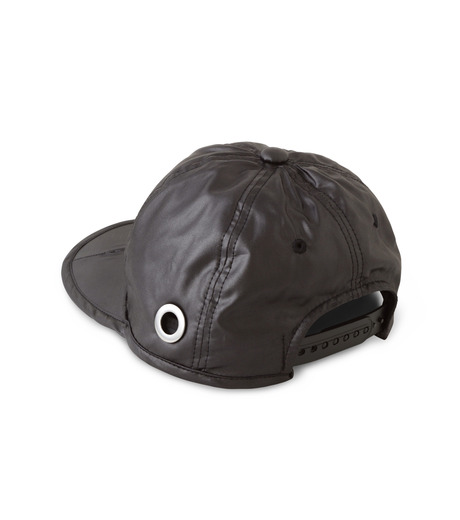 HEY YOU !(ヘイユウ)のWASHED TWILL CAP-BLACK(HATS/HATS)-18S90023-13 詳細画像3