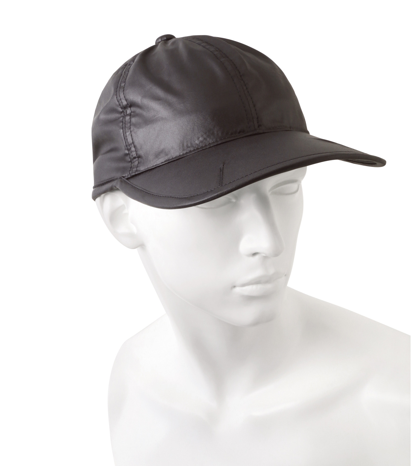HEY YOU !(ヘイユウ)のWASHED TWILL CAP-BLACK(HATS/HATS)-18S90023-13 拡大詳細画像4