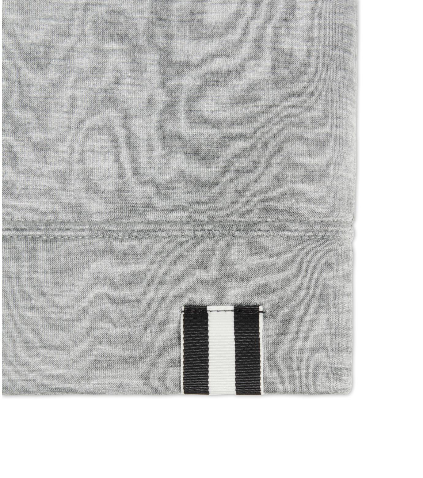 HL HEDDIE LOVU(エイチエル・エディールーヴ)のBONDING SWEATSHIRT-LIGHT GRAY(カットソー/cut and sewn)-18S92001-10 拡大詳細画像6