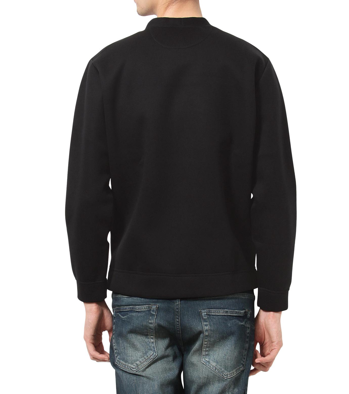 HL HEDDIE LOVU(エイチエル・エディールーヴ)のBONDING SWEATSHIRT-BLACK(カットソー/cut and sewn)-18S92001-13 拡大詳細画像2
