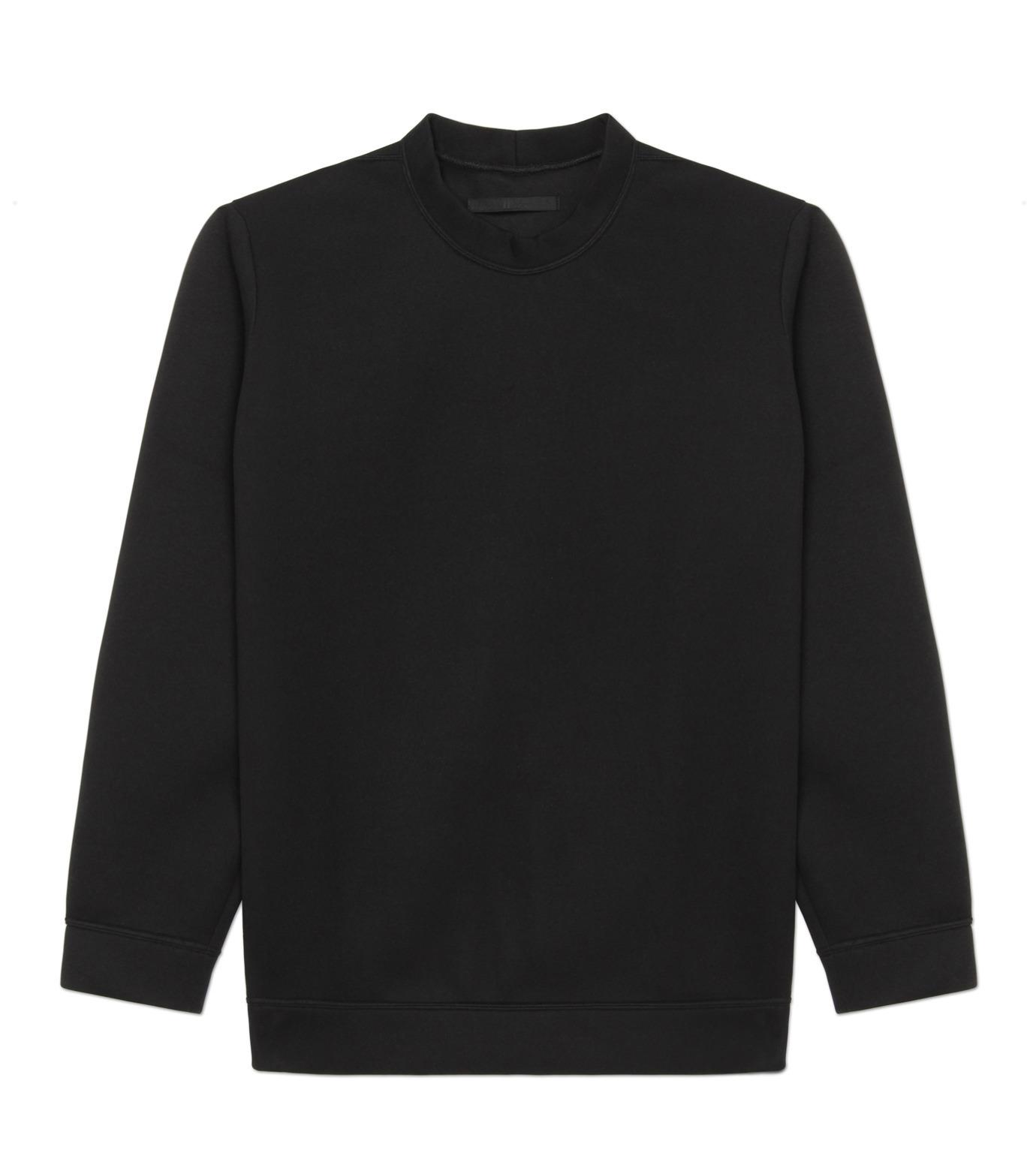 HL HEDDIE LOVU(エイチエル・エディールーヴ)のBONDING SWEATSHIRT-BLACK(カットソー/cut and sewn)-18S92001-13 拡大詳細画像4