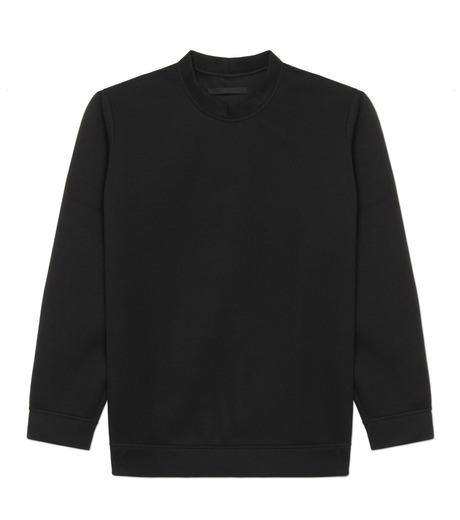 HL HEDDIE LOVU(エイチエル・エディールーヴ)のBONDING SWEATSHIRT-BLACK(カットソー/cut and sewn)-18S92001-13 詳細画像4