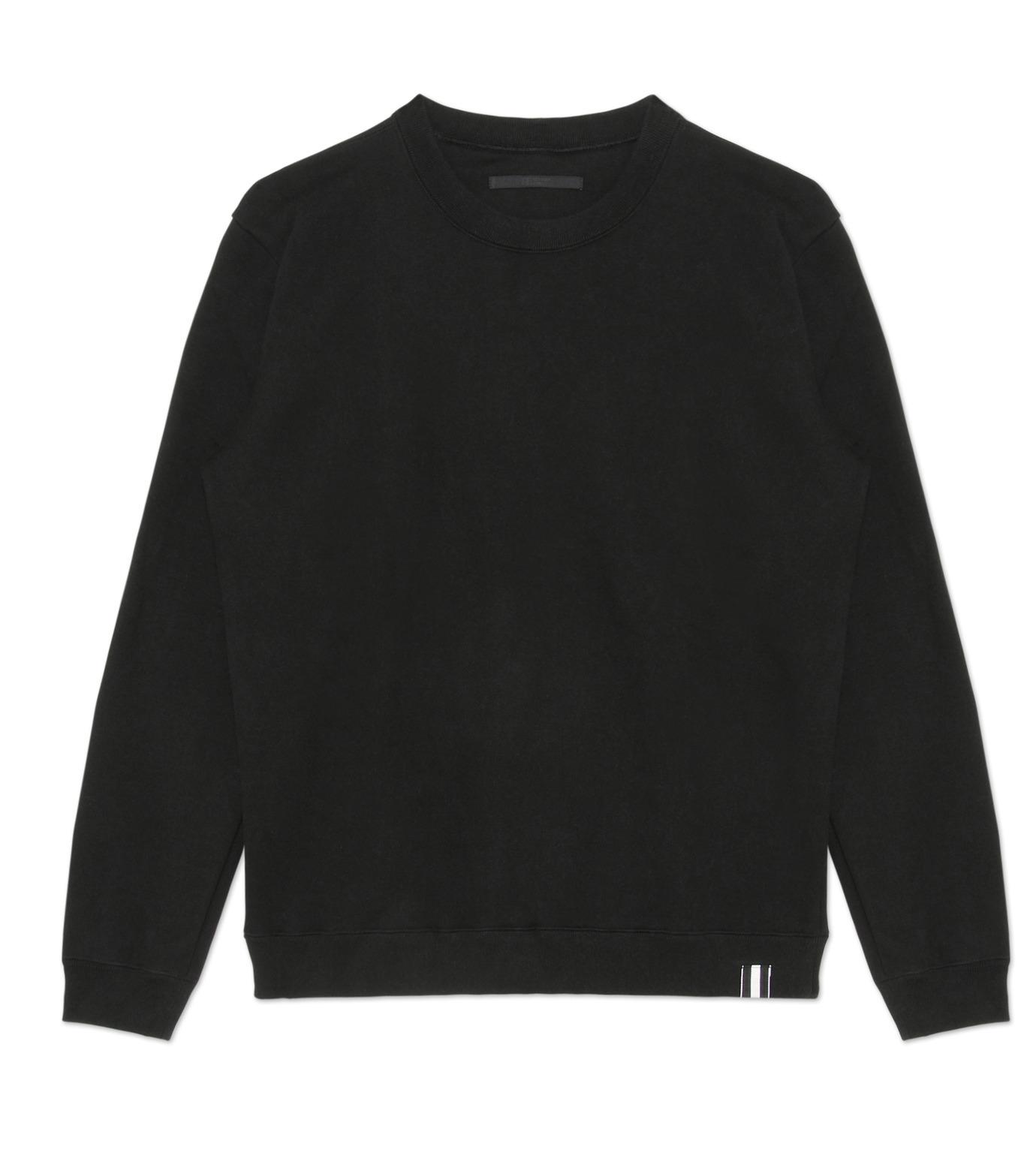HL HEDDIE LOVU(エイチエル・エディールーヴ)のHEAVY SWEATSHIRT-BLACK(カットソー/cut and sewn)-18S92002-13 拡大詳細画像4