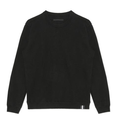 HL HEDDIE LOVU(エイチエル・エディールーヴ)のHEAVY SWEATSHIRT-BLACK(カットソー/cut and sewn)-18S92002-13 詳細画像4