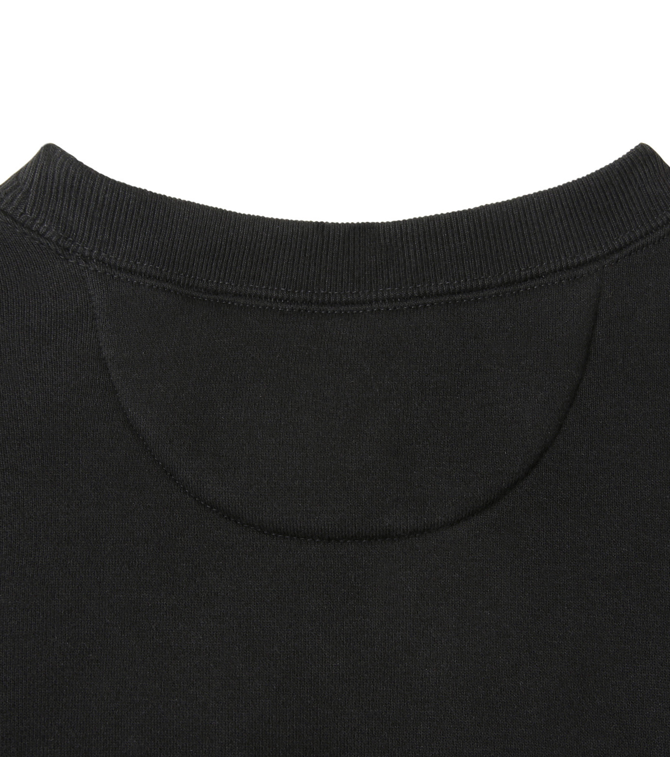 HL HEDDIE LOVU(エイチエル・エディールーヴ)のHEAVY SWEATSHIRT-BLACK(カットソー/cut and sewn)-18S92002-13 拡大詳細画像6