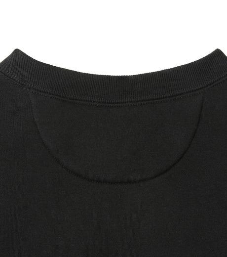 HL HEDDIE LOVU(エイチエル・エディールーヴ)のHEAVY SWEATSHIRT-BLACK(カットソー/cut and sewn)-18S92002-13 詳細画像6