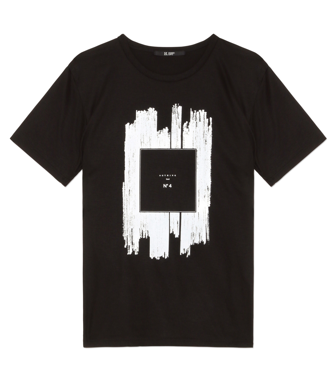HL HEDDIE LOVU(エイチエル・エディールーヴ)のNOTHING pt TEE-BLACK(カットソー/cut and sewn)-18S92011-13 拡大詳細画像1