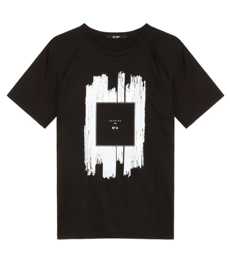 HL HEDDIE LOVU(エイチエル・エディールーヴ)のNOTHING pt TEE-BLACK(カットソー/cut and sewn)-18S92011-13 詳細画像1