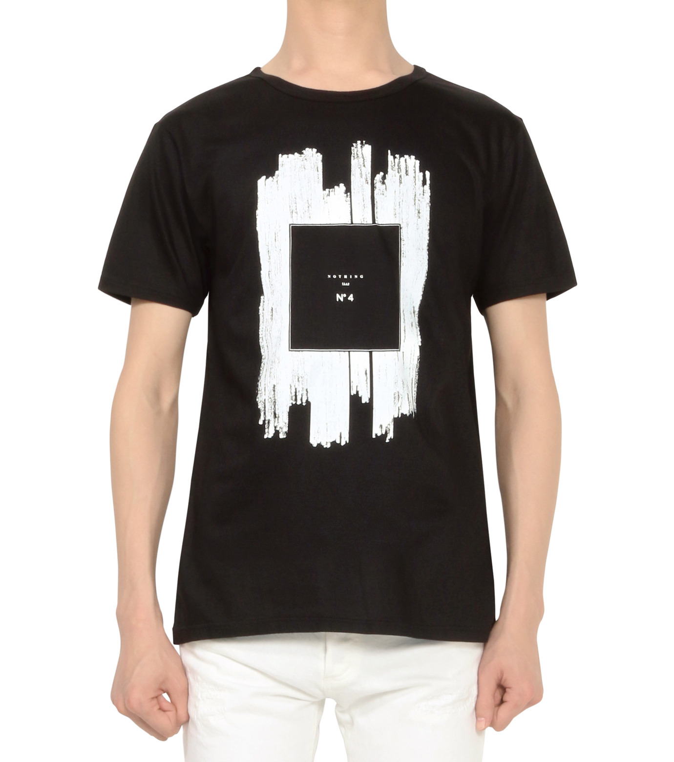 HL HEDDIE LOVU(エイチエル・エディールーヴ)のNOTHING pt TEE-BLACK(カットソー/cut and sewn)-18S92011-13 拡大詳細画像2