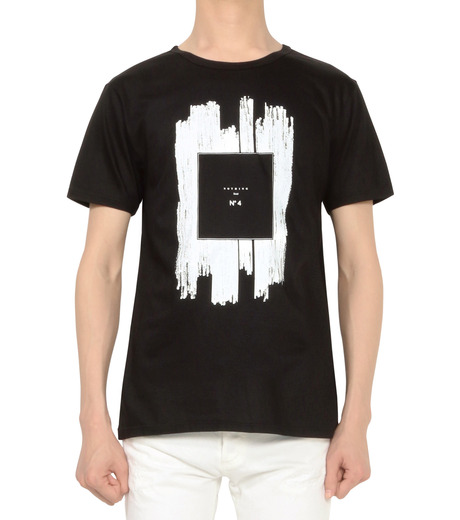 HL HEDDIE LOVU(エイチエル・エディールーヴ)のNOTHING pt TEE-BLACK(カットソー/cut and sewn)-18S92011-13 詳細画像2
