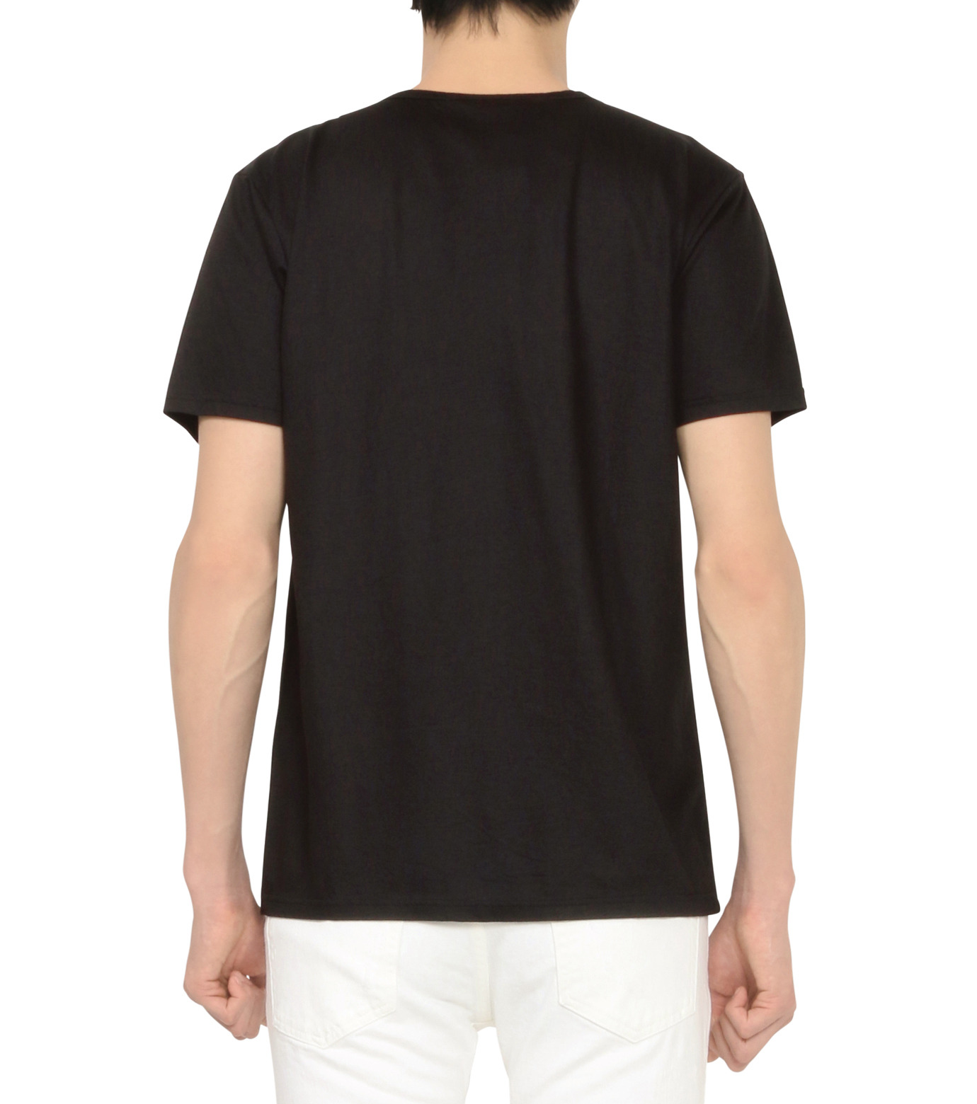 HL HEDDIE LOVU(エイチエル・エディールーヴ)のNOTHING pt TEE-BLACK(カットソー/cut and sewn)-18S92011-13 拡大詳細画像3