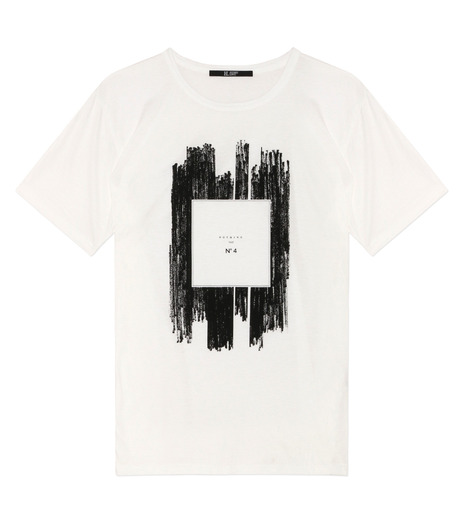 HL HEDDIE LOVU(エイチエル・エディールーヴ)のNOTHING pt TEE-WHITE(カットソー/cut and sewn)-18S92011-4 詳細画像1