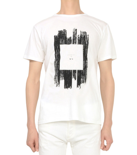 HL HEDDIE LOVU(エイチエル・エディールーヴ)のNOTHING pt TEE-WHITE(カットソー/cut and sewn)-18S92011-4 詳細画像2
