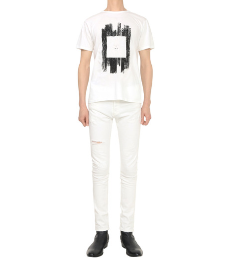 HL HEDDIE LOVU(エイチエル・エディールーヴ)のNOTHING pt TEE-WHITE(カットソー/cut and sewn)-18S92011-4 詳細画像4