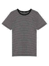 HL HEDDIE LOVU NARROW BORDER TEE