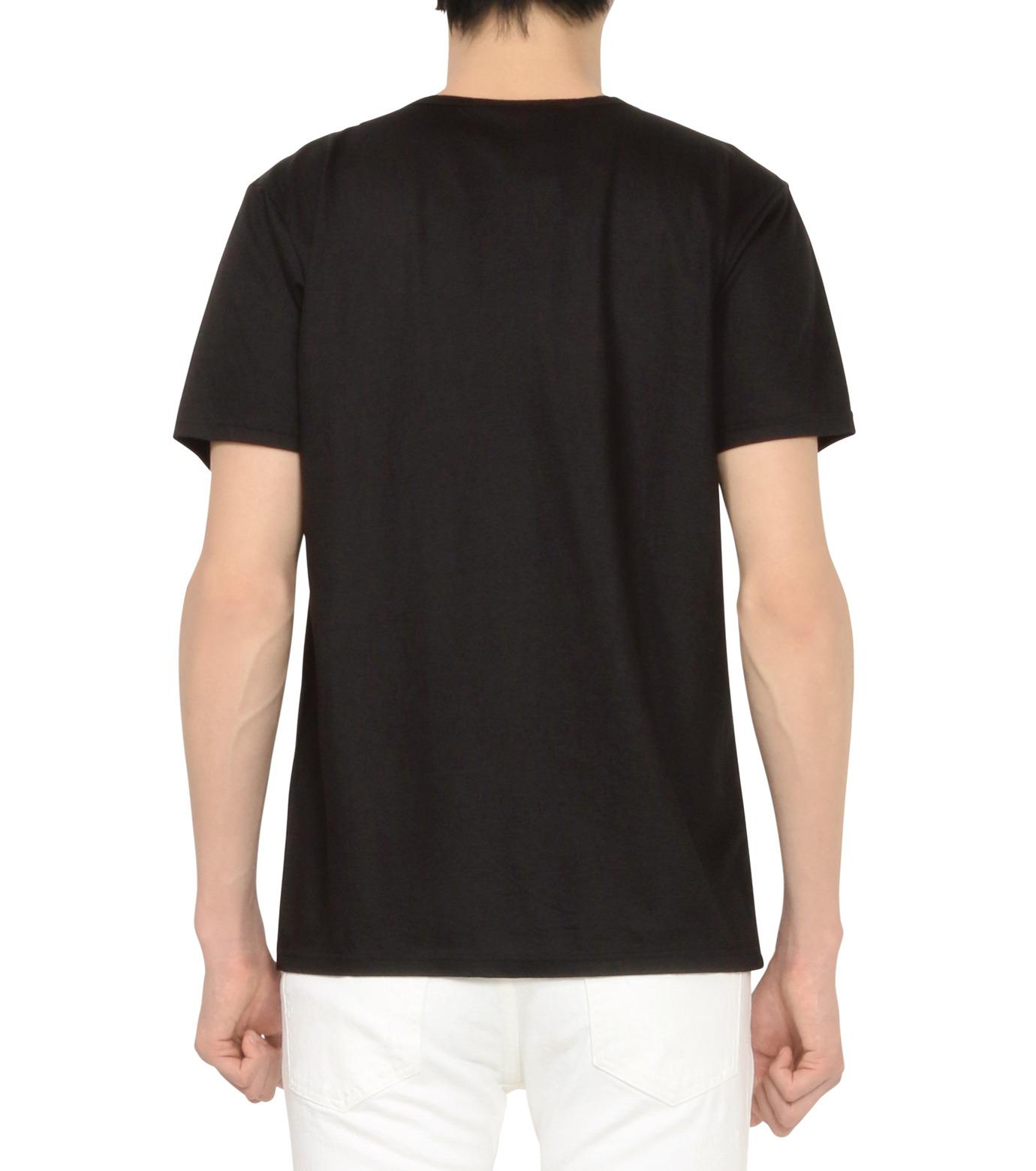 HL HEDDIE LOVU(エイチエル・エディールーヴ)のOFFLINE pt TEE-BLACK(カットソー/cut and sewn)-18S92015-13 拡大詳細画像3