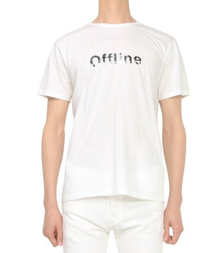 HL HEDDIE LOVU(エイチエル・エディールーヴ)のOFFLINE pt TEE-WHITE(カットソー/cut and sewn)-18S92015-4 詳細画像2