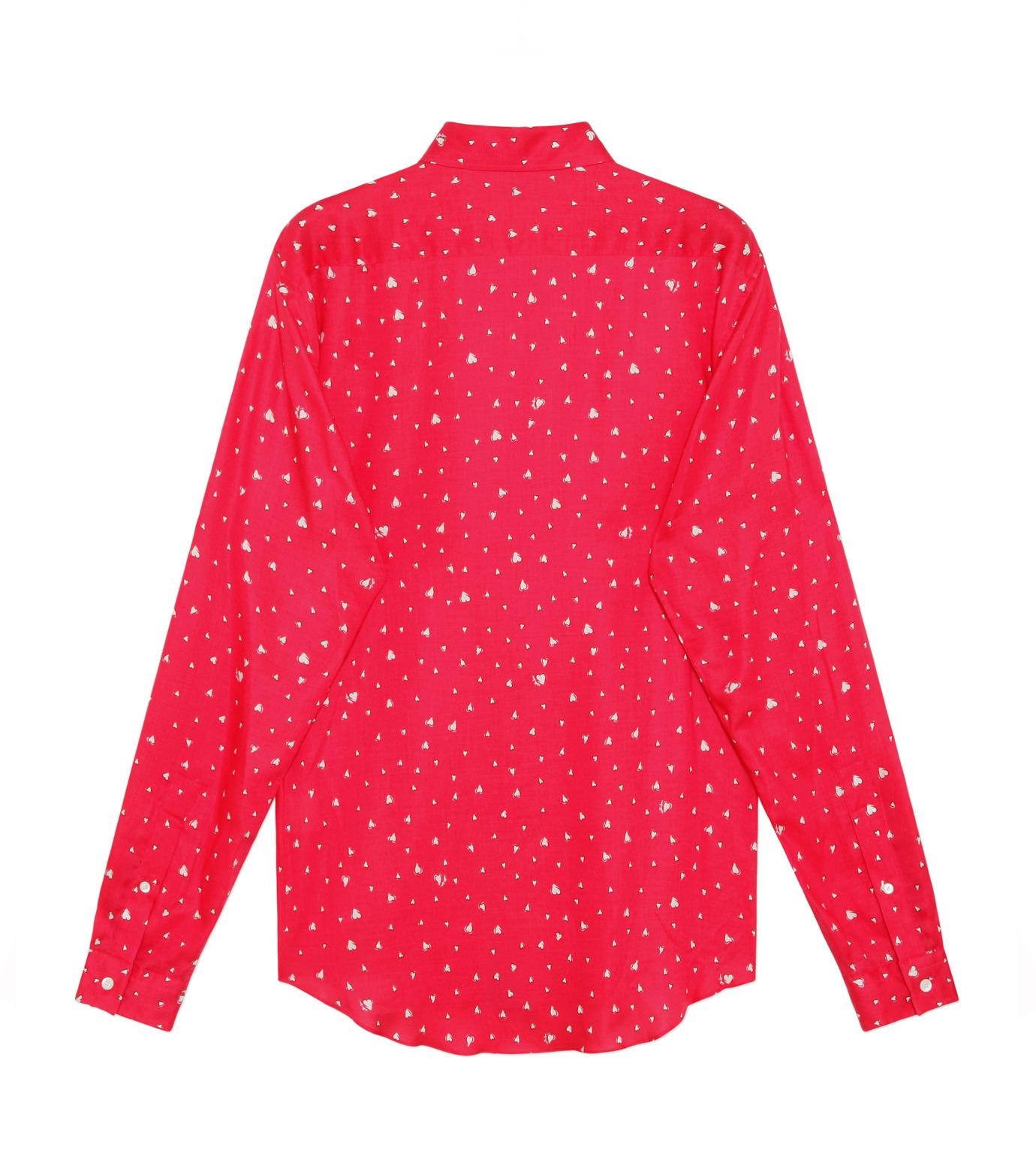 HL HEDDIE LOVU(エイチエル・エディールーヴ)のHEART PATTERN SHIRT-PINK(シャツ/shirt)-18S93001-72 拡大詳細画像2