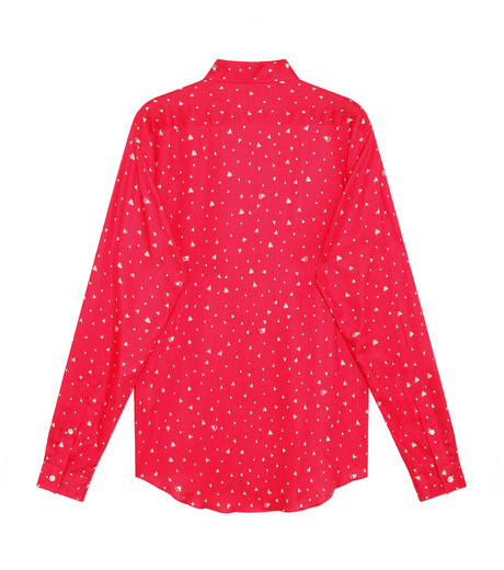 HL HEDDIE LOVU(エイチエル・エディールーヴ)のHEART PATTERN SHIRT-PINK(シャツ/shirt)-18S93001-72 詳細画像2