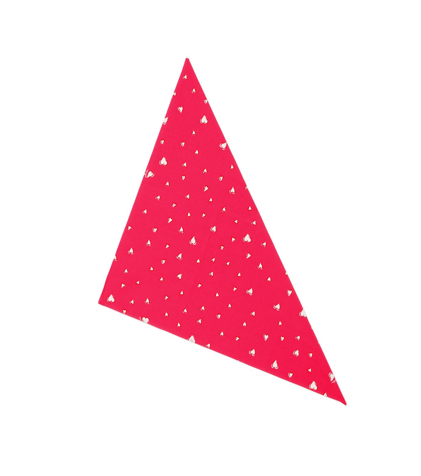 HL HEDDIE LOVU(エイチエル・エディールーヴ)のHEART PATTERN SHIRT-PINK(シャツ/shirt)-18S93001-72 拡大詳細画像6