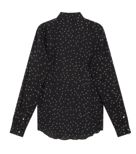 HL HEDDIE LOVU(エイチエル・エディールーヴ)のLINE HEART PATTERN SHIRT-BLACK(シャツ/shirt)-18S93002-13 詳細画像2