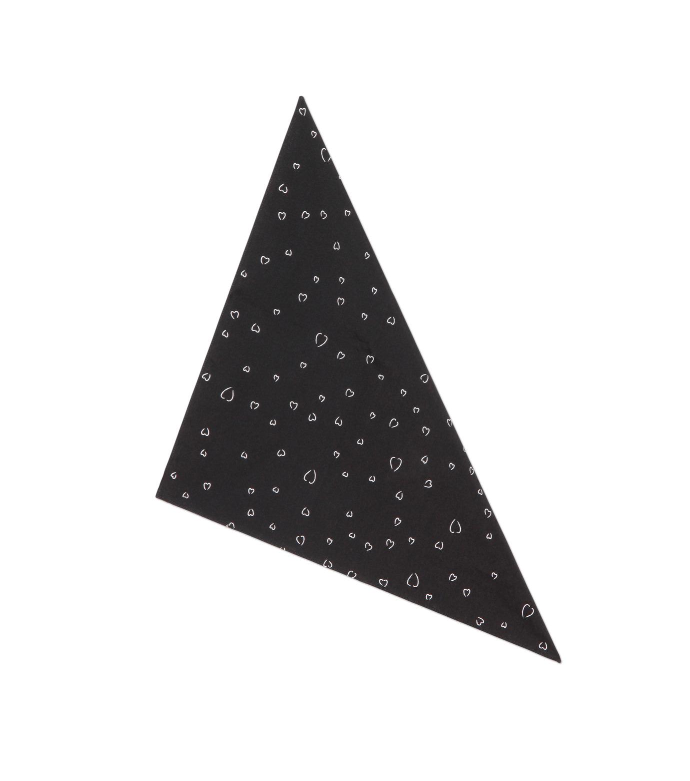 HL HEDDIE LOVU(エイチエル・エディールーヴ)のLINE HEART PATTERN SHIRT-BLACK(シャツ/shirt)-18S93002-13 拡大詳細画像6