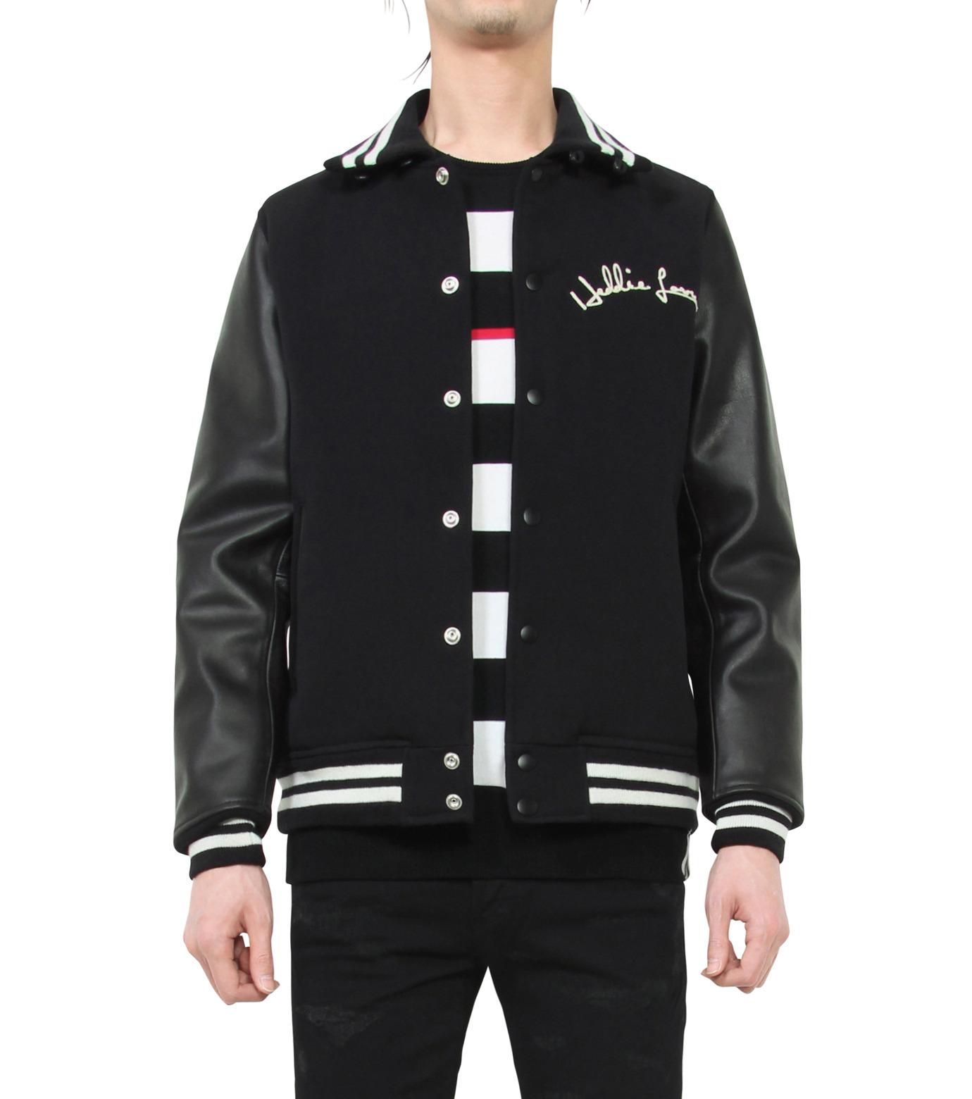 HL HEDDIE LOVU(エイチエル・エディールーヴ)のSTADIUM JACKET-BLACK(ジャケット/jacket)-18S94002-13 拡大詳細画像1