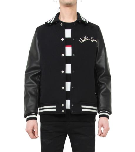 HL HEDDIE LOVU(エイチエル・エディールーヴ)のSTADIUM JACKET-BLACK(ジャケット/jacket)-18S94002-13 詳細画像1