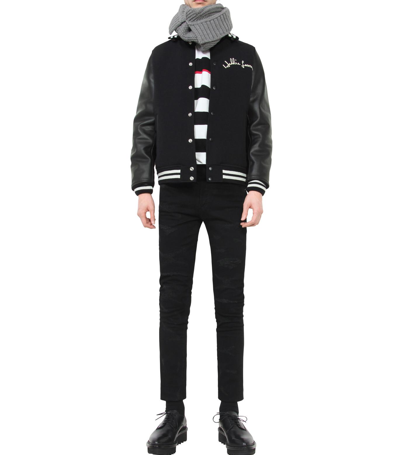 HL HEDDIE LOVU(エイチエル・エディールーヴ)のSTADIUM JACKET-BLACK(ジャケット/jacket)-18S94002-13 拡大詳細画像3
