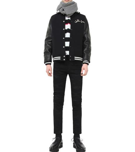 HL HEDDIE LOVU(エイチエル・エディールーヴ)のSTADIUM JACKET-BLACK(ジャケット/jacket)-18S94002-13 詳細画像3