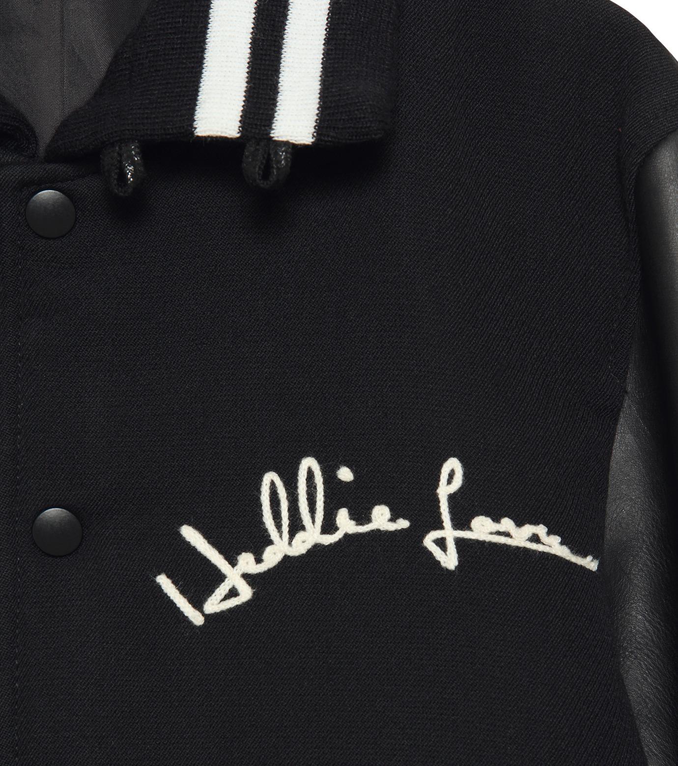 HL HEDDIE LOVU(エイチエル・エディールーヴ)のSTADIUM JACKET-BLACK(ジャケット/jacket)-18S94002-13 拡大詳細画像5