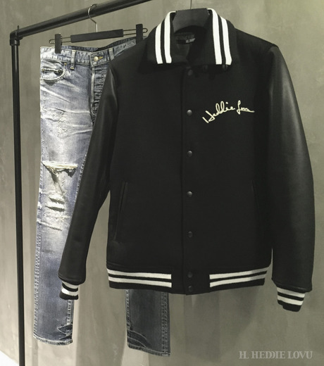 HL HEDDIE LOVU(エイチエル・エディールーヴ)のSTADIUM JACKET-BLACK(ジャケット/jacket)-18S94002-13 詳細画像6