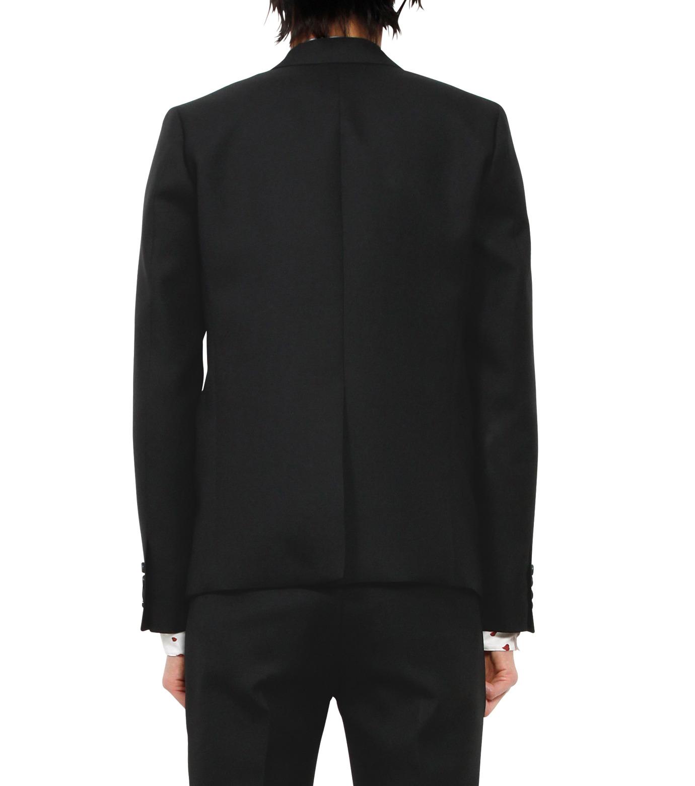 HL HEDDIE LOVU(エイチエル・エディールーヴ)のPEAKED LAPEL 1B JK-BLACK(ジャケット/jacket)-18S94005-13 拡大詳細画像2
