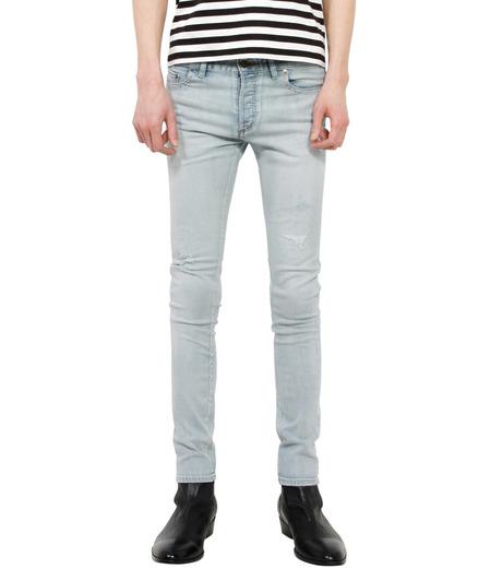 HL HEDDIE LOVU(エイチエル・エディールーヴ)のbleach skin slim-LIGHT BLUE(パンツ/pants)-18S98001-91 詳細画像1