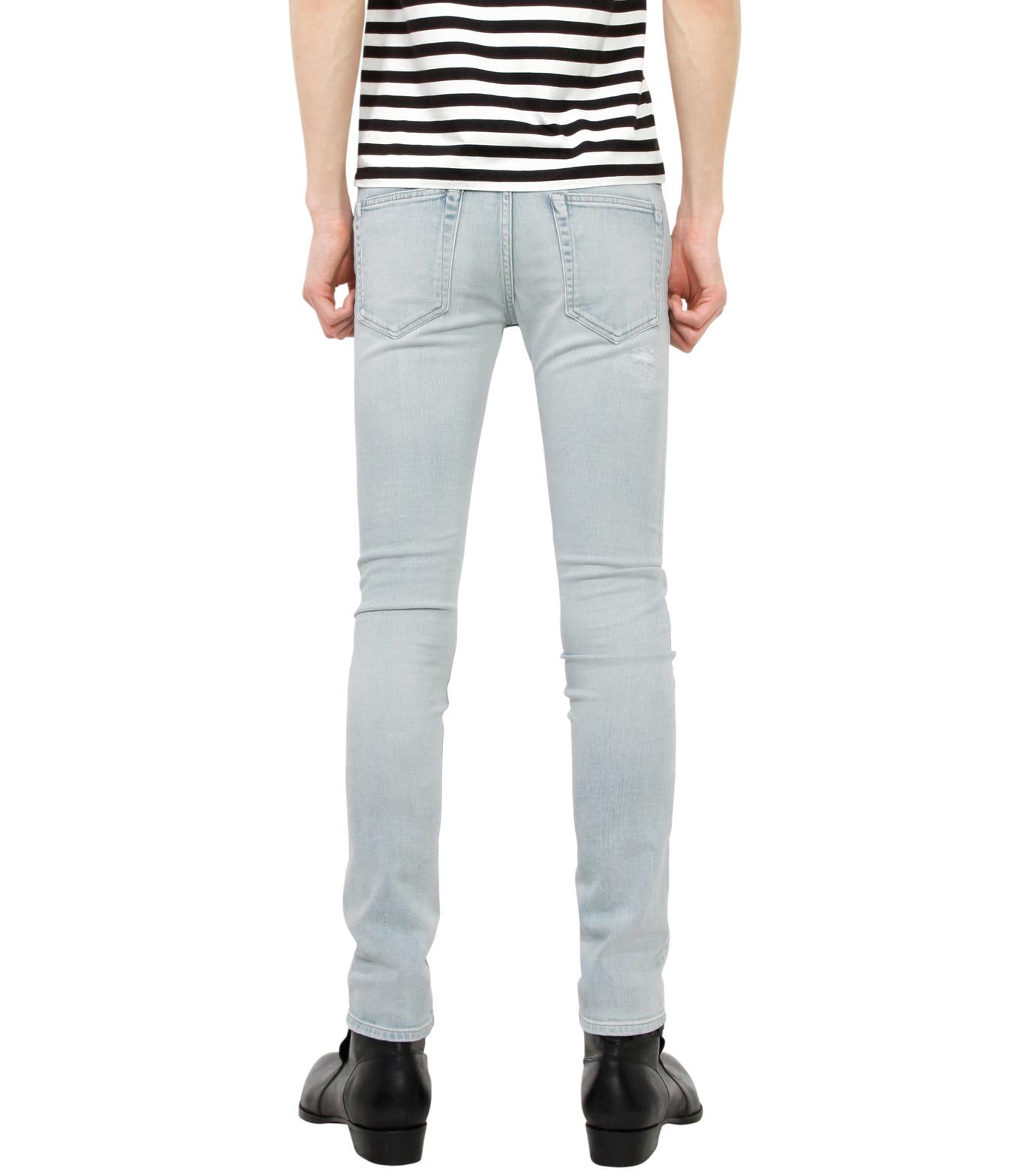 HL HEDDIE LOVU(エイチエル・エディールーヴ)のbleach skin slim-LIGHT BLUE(パンツ/pants)-18S98001-91 拡大詳細画像2