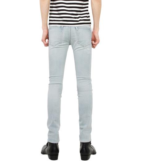 HL HEDDIE LOVU(エイチエル・エディールーヴ)のbleach skin slim-LIGHT BLUE(パンツ/pants)-18S98001-91 詳細画像2