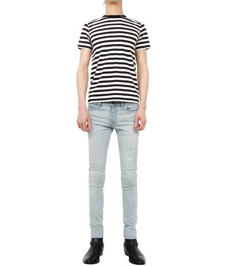 HL HEDDIE LOVU(エイチエル・エディールーヴ)のbleach skin slim-LIGHT BLUE(パンツ/pants)-18S98001-91 詳細画像3
