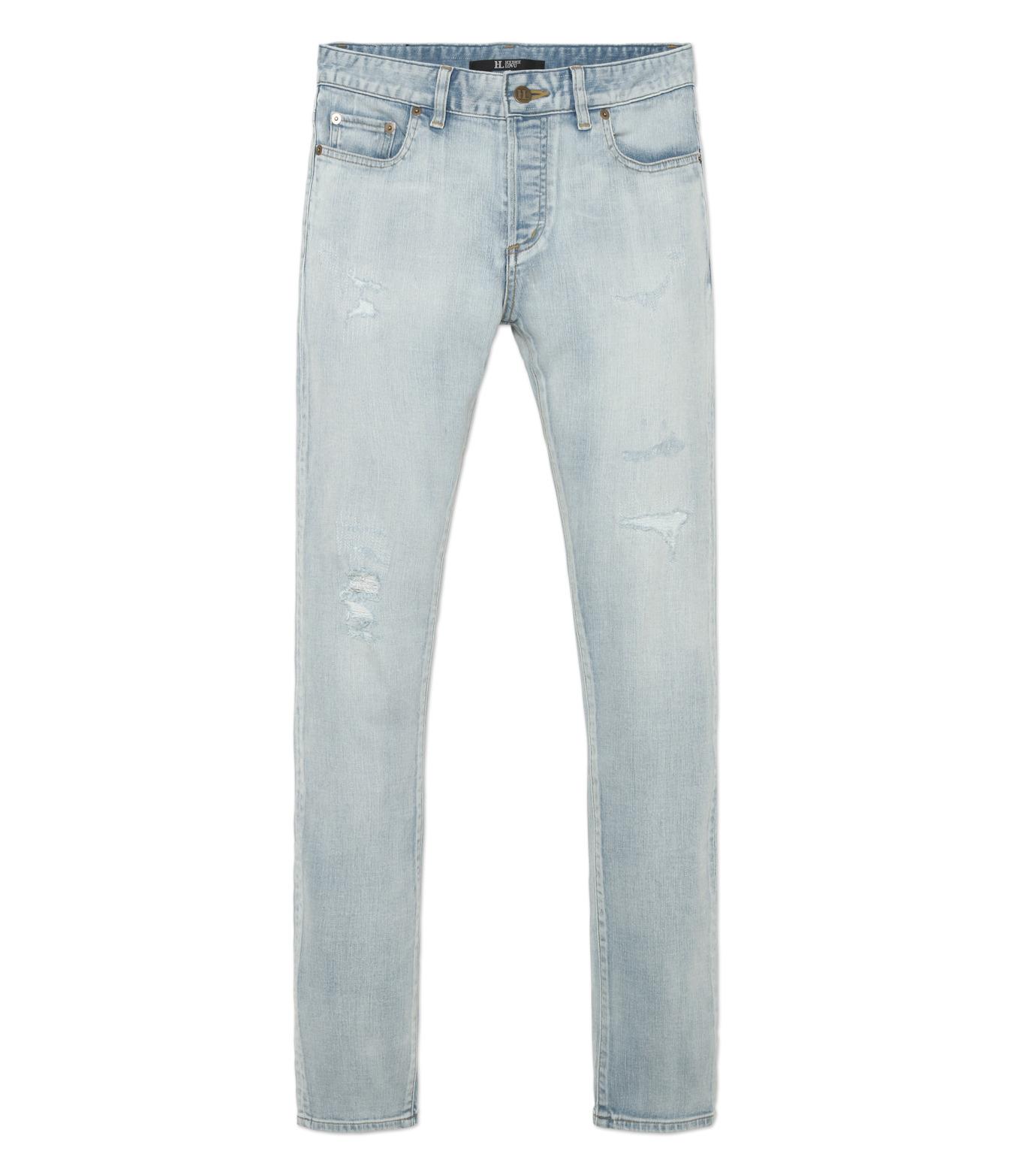 HL HEDDIE LOVU(エイチエル・エディールーヴ)のbleach skin slim-LIGHT BLUE(パンツ/pants)-18S98001-91 拡大詳細画像4