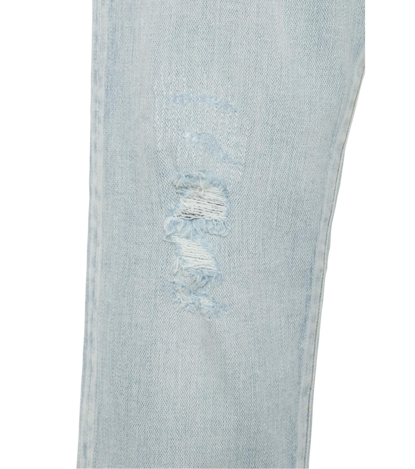 HL HEDDIE LOVU(エイチエル・エディールーヴ)のbleach skin slim-LIGHT BLUE(パンツ/pants)-18S98001-91 拡大詳細画像6