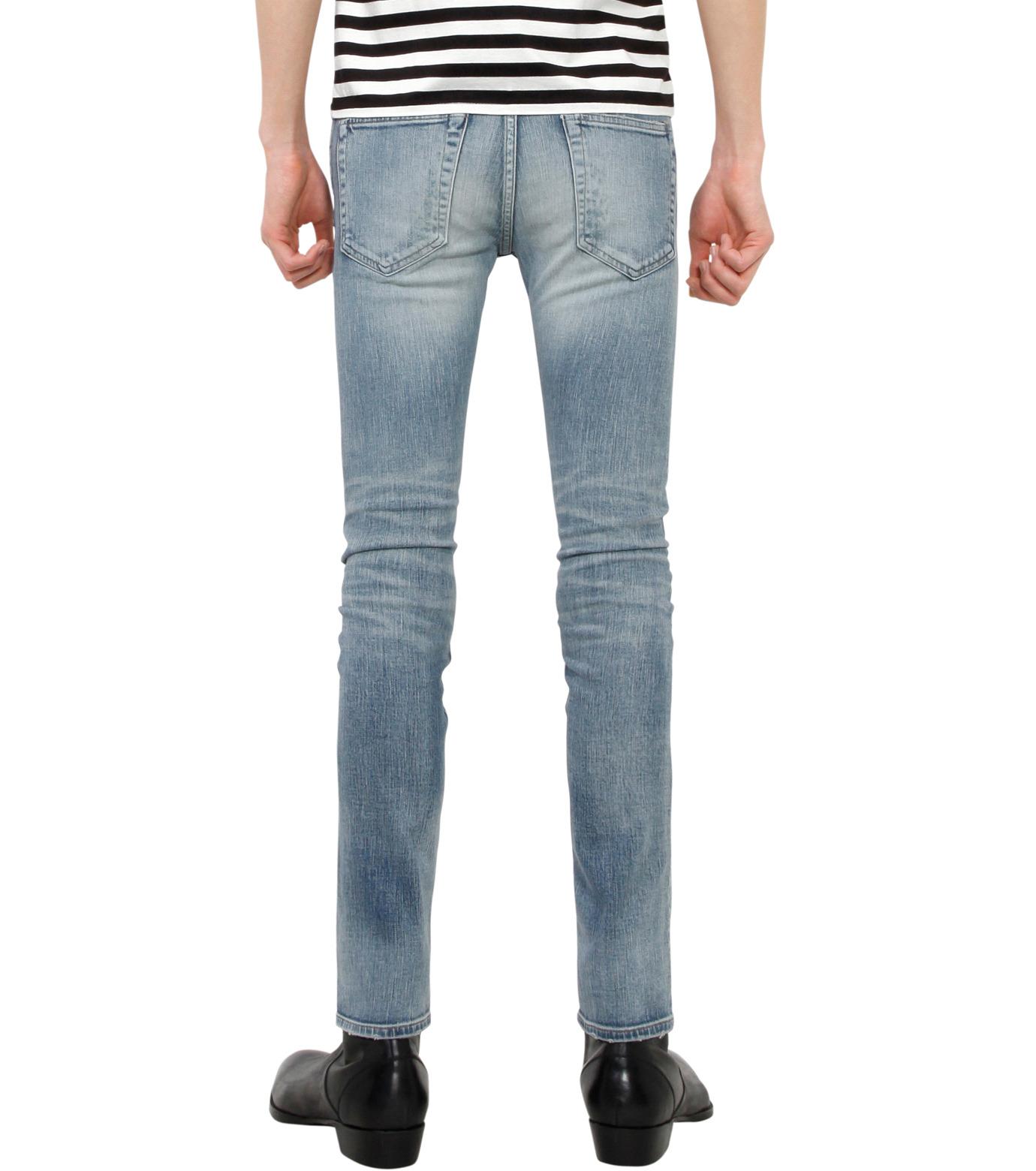 HL HEDDIE LOVU(エイチエル・エディールーヴ)のind damage3 skin slim-BLUE(パンツ/pants)-18S98002-92 拡大詳細画像2