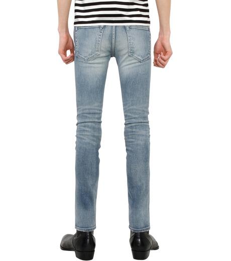 HL HEDDIE LOVU(エイチエル・エディールーヴ)のind damage3 skin slim-BLUE(パンツ/pants)-18S98002-92 詳細画像2